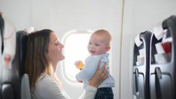 Létání s miminkem