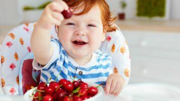 Třešně pro kojence