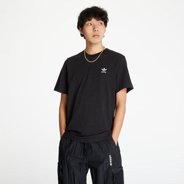 pánské černé adidas triko