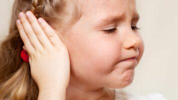 Bolest ucha u dětí