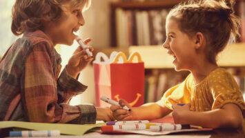 Hračky v Happy Meal McDonalds